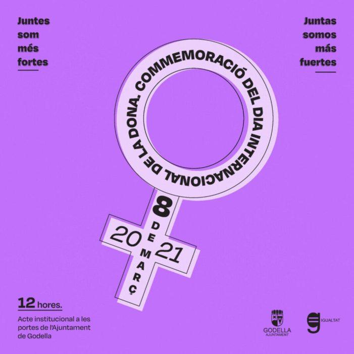 Godella commemorarà el Dia Internacional de la Dona amb una potent campanya en xarxes socials amb el títol #SeguimFentHistoria