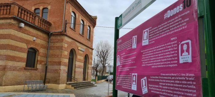 Les històries de les dones ixen al carrer a Carlet