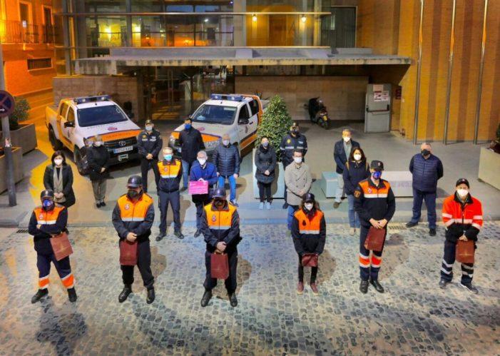 Alboraia agraeix a la seua agrupació de Protecció Civil la seua labor i entrega