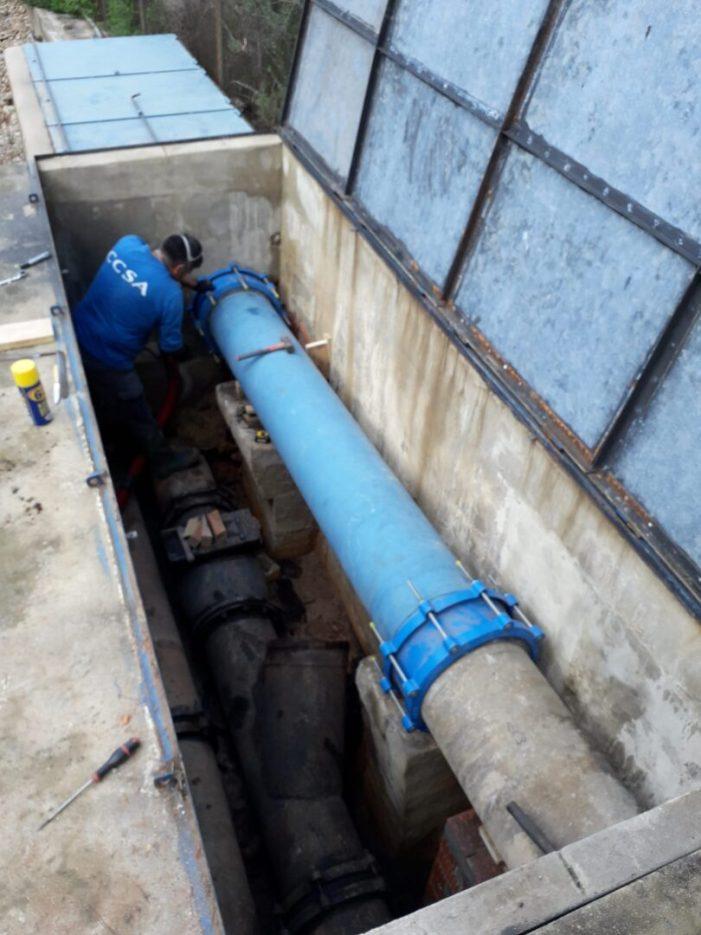 La xarxa d'aigua potable de Carcaixent aconsegueix assolir el seu màxim valor històric d'eficiència