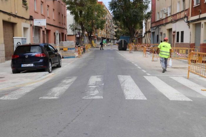 S'inicia la segona fase del pla de reurbanització del carrer Nicolás Andreu