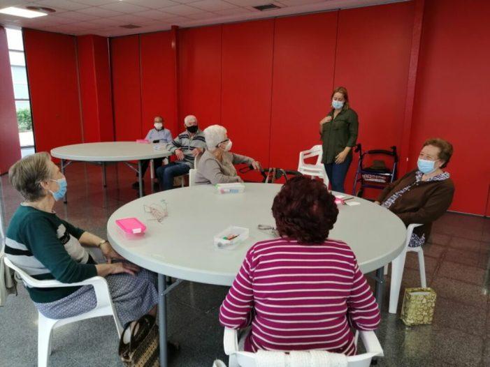 El programa 'Espai Gran' d'Almussafes reprèn les sessions presencials