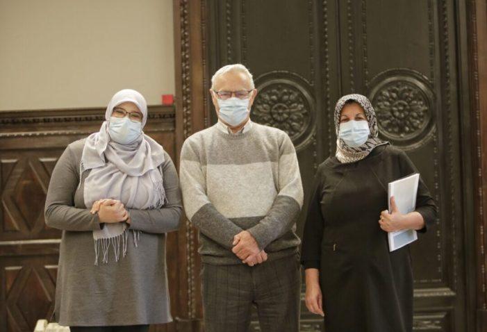 L'alcalde de València, Joan Ribó, ha rebut hui a representants del Centre Cultural Islàmic de València