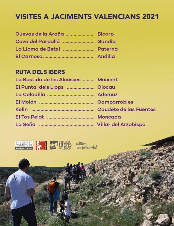 El Museu de Prehistòria de València proposa noves visites als jaciments valencians