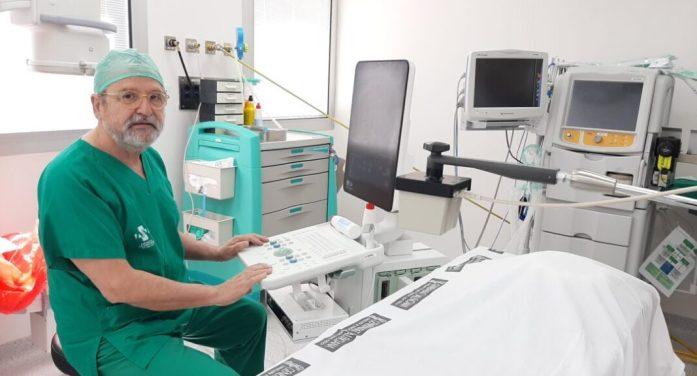 Urologia de l'Hospital General Universitari d'Elx utilitza una tècnica pionera per al diagnòstic del càncer de pròstata