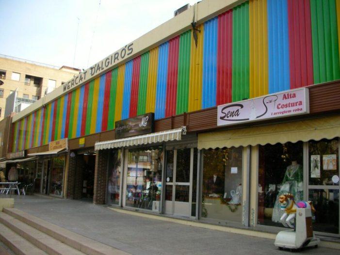 Contractades les obres de reparació del forjat del soterrani del Mercat d'Algirós de València