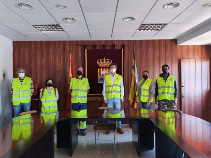 Alcàntera de Xúquer augmenta el seu personal municipal de desinfecció contra la COVID 19