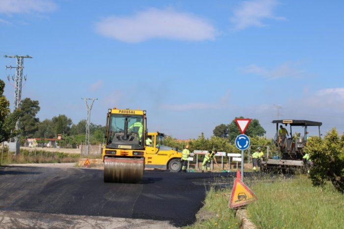 Picassent asfalta amb fons propis diversos camins rurals del terme municipal