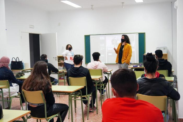 Joves d'Alginet comencen el programa JOOP