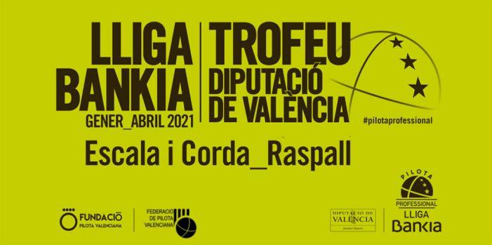 Penúltima jornada en la lliga Bankia de raspall i canvis en la decisiva d'escala i corda