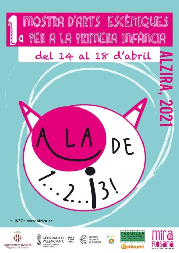 Del 14 al 18 d'abril, Primera Mostra d'Arts Escèniques de la Primera Infància a Alzira