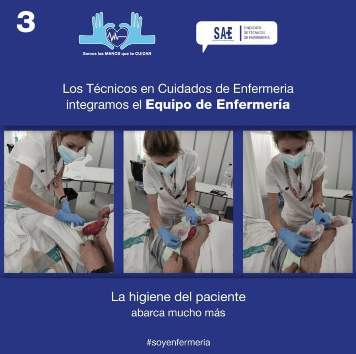 De la correcta higiene del pacient depén la bona evolució de la malaltia