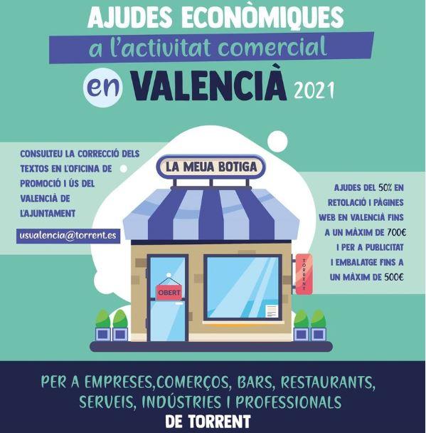 Torrent fa costat al comerç local amb les ajudes econòmiques a l'activitat comercial en valencià