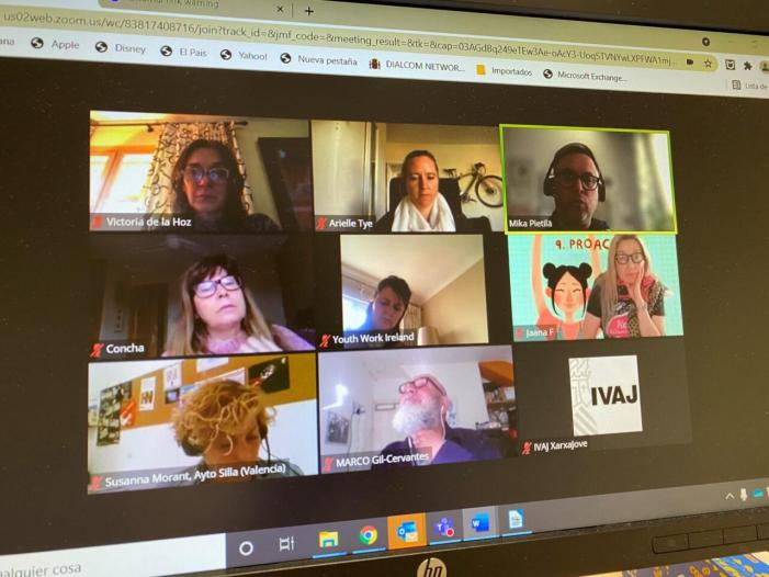 L'IVAJ treballa en eines innovadores per a la informació juvenil a través del projecte europeu DesYign