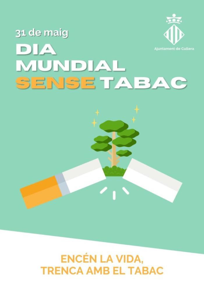 Cullera advertix de la perillositat del tabaquisme en joves i adolescents