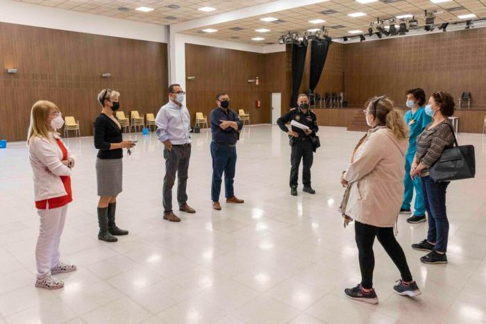 L'Auditori de la Música i les Arts prepara les seues instal·lacions per acollir la vacunació contra la Covid 19 a Picassent