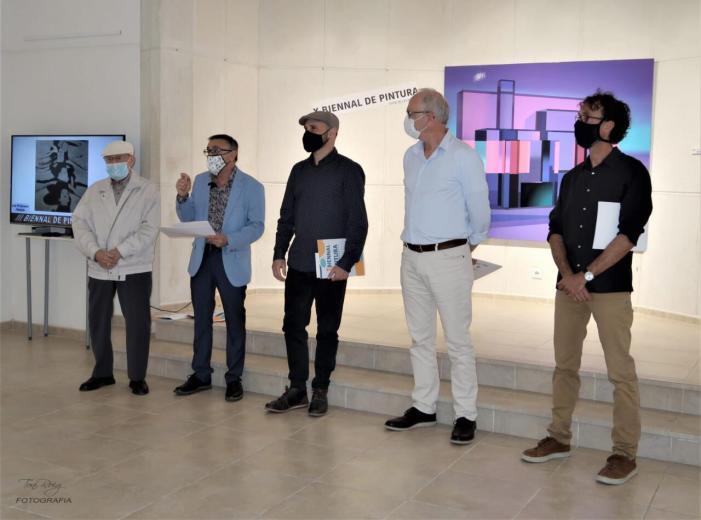David Pellicer guanya la X Biennal de Pintura de Carcaixent