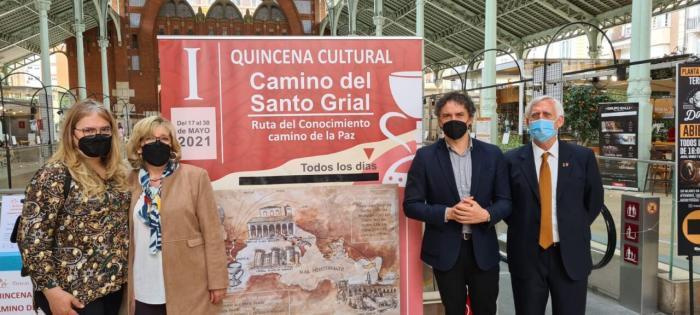 Colomer: 'El Camí del Sant Greal és un recurs turístic de primer nivell que permetrà fer de València una ciutat referent en turisme cultural