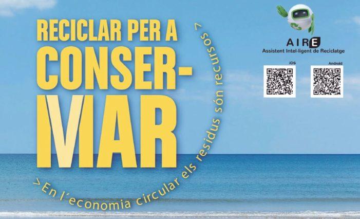 """""""Reciclar per a ConserMar"""" arriba a Alboraia de la mà de la Conselleria de Medi Ambient i Ecoembes"""