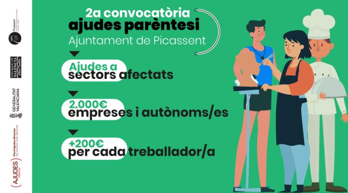 Picassent aprova les bases per a la segona convocatòria del Pla Resistir amb una dotació de vora 250.000 euros