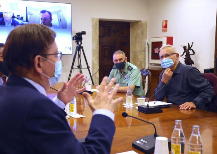"""L'Alcalde destaca """"la relació entre la responsabilitat de la gent davant la Covid i la creació d'ocupació a la ciutat de València"""""""