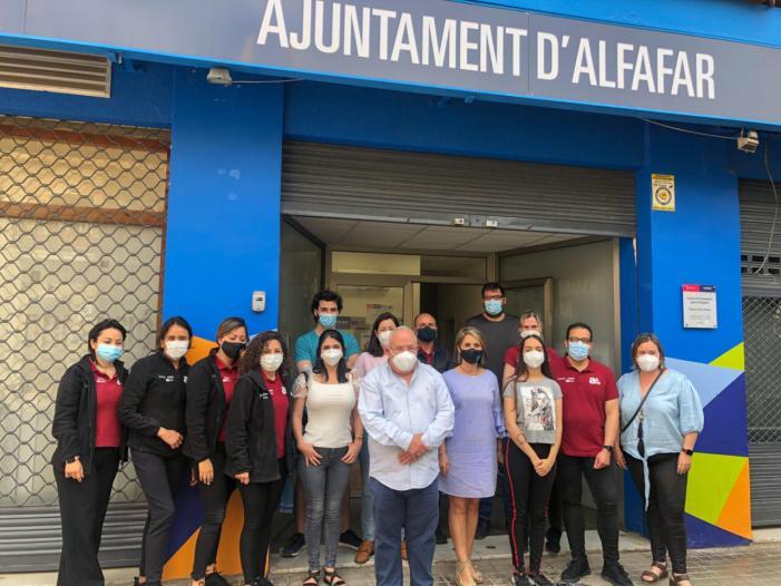 Alfafar inicia la segunda fase del programa mixto de formación y empleo 'Escoles d'Ocupació et Formem'