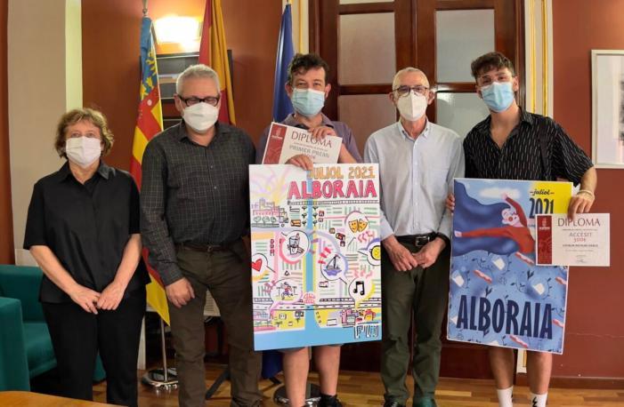 L'Ajuntament d'Alboraia presenta el cartell guanyador per a les activitats de juliol