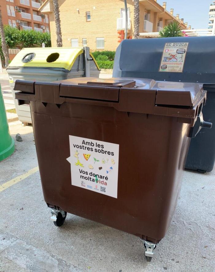 Alboraia posa en marxa la campanya 'Hola Vida!' per a introduir el contenidor d'orgànic i fomentar el seu ús en la població