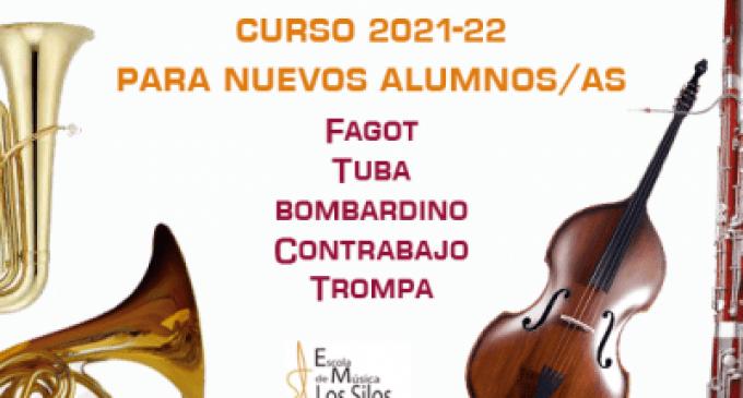L'Escola de Música de l'Agrupació Musical Les Sitges obri la seua matrícula per al curs 2021-2022
