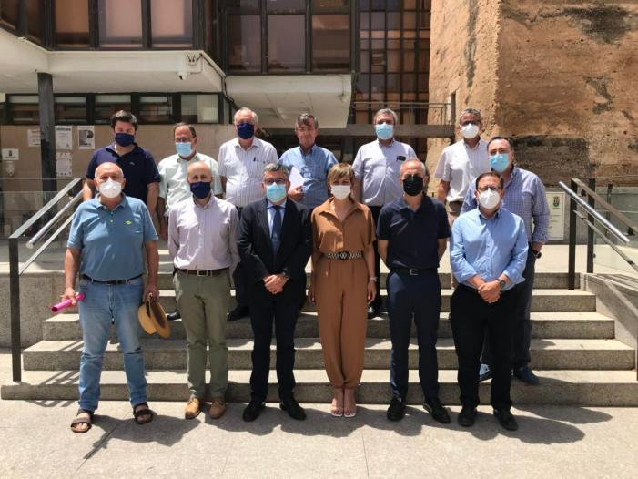 Reunió de treball a Benifaió per a resoldre els problemes d'inundabilitat del municipi