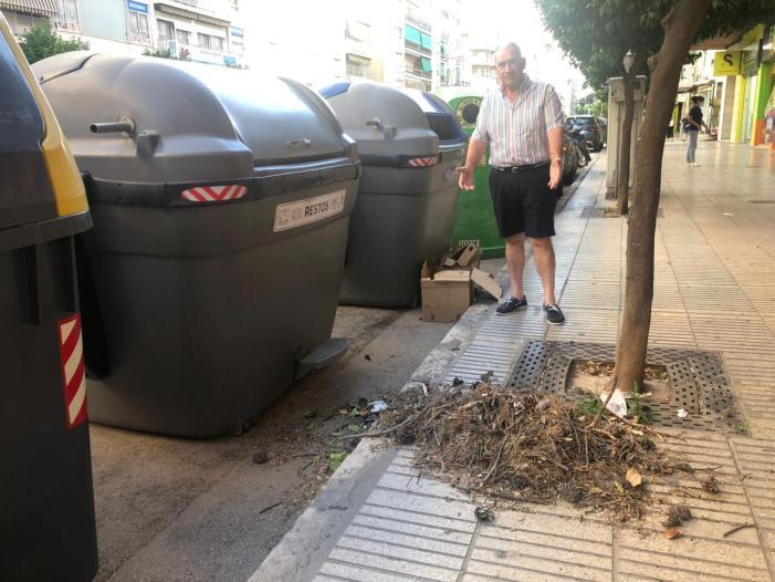 Des del PP lamentem la mala gestió en la retirada de contenidors a les urbanitzacions