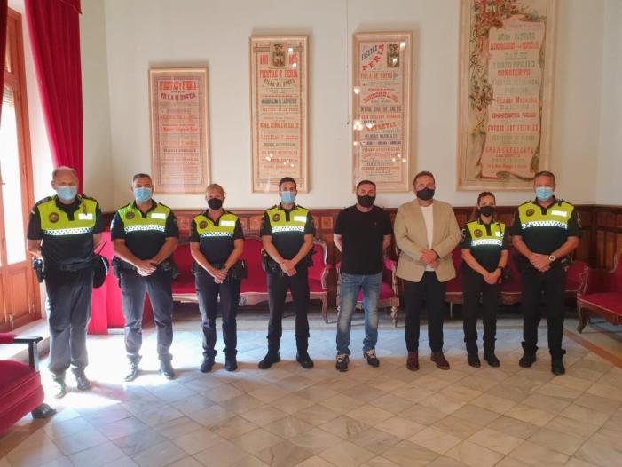 La Policia Local de Sueca continua ampliant la seua plantilla amb la incorporació de 3 agents més
