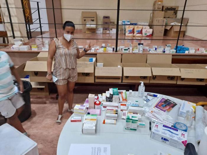 Una parròquia de Mislata envia a ajuda humanitària a Cuba en maletes portades per passatgers