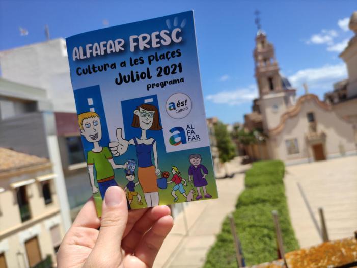 Més de 3500 persones van gaudir al juliol de l'agenda cultural d'Alfafar