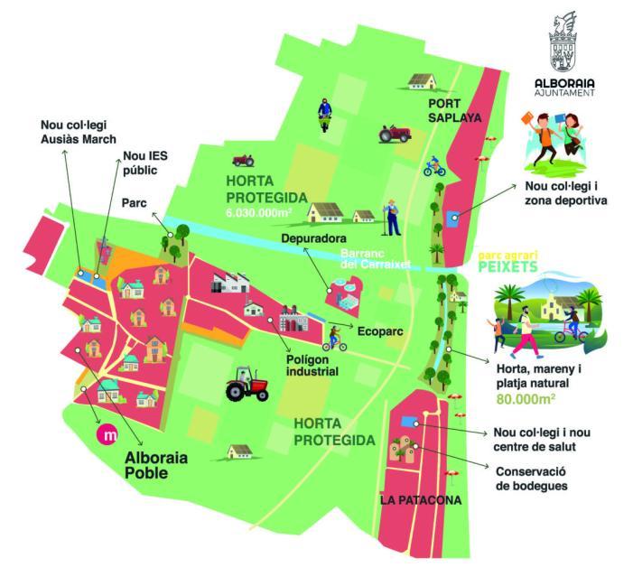 Alboraia encara el seu futur amb la recta final del Pla General d'Ordenació Urbana