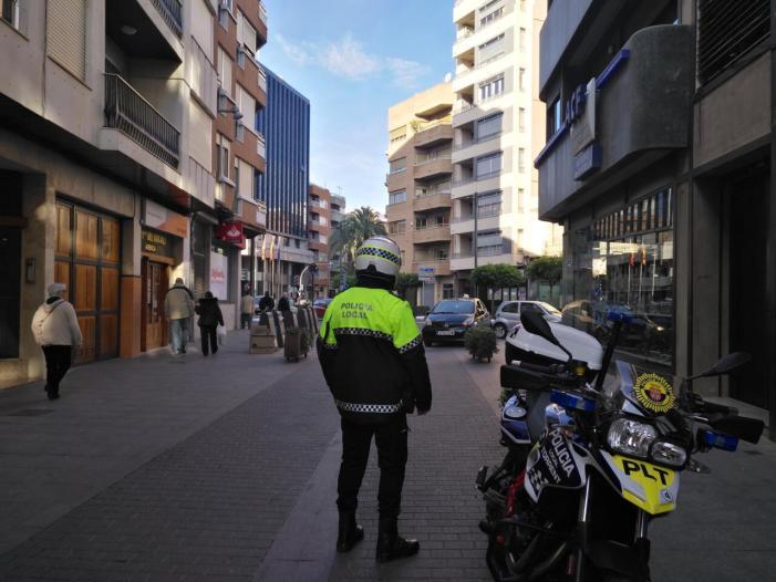 La Policia Local de Torrent deté a un individu perseguit per la INTERPOL
