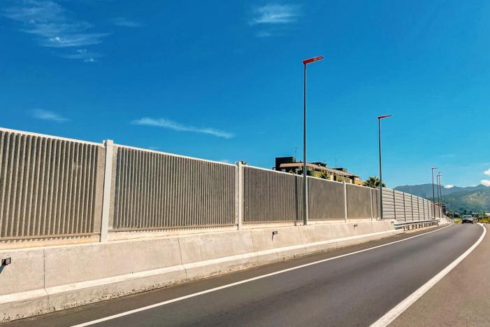 Obres Públiques millora la qualitat acústica a l'entorn de la CV-50 a Alzira