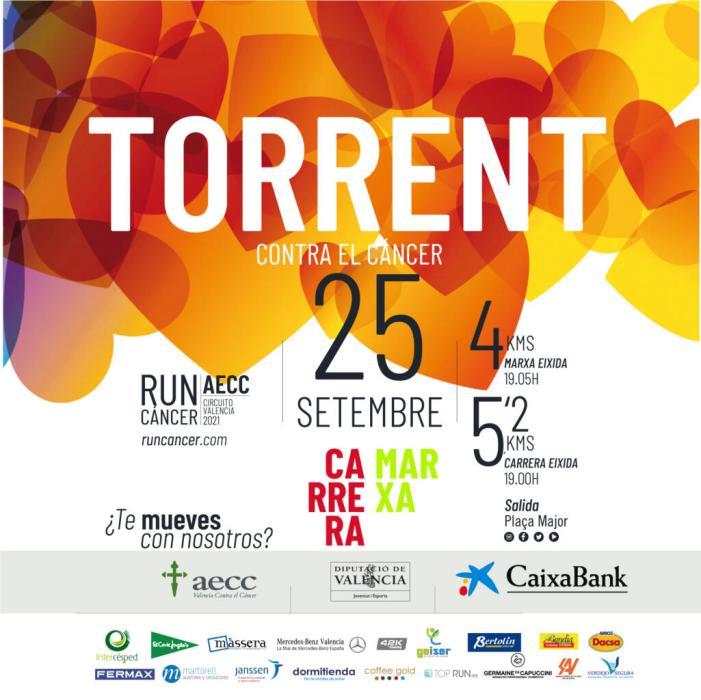 Torrent acull la RunCáncer 2021, carrera solidària contra el càncer