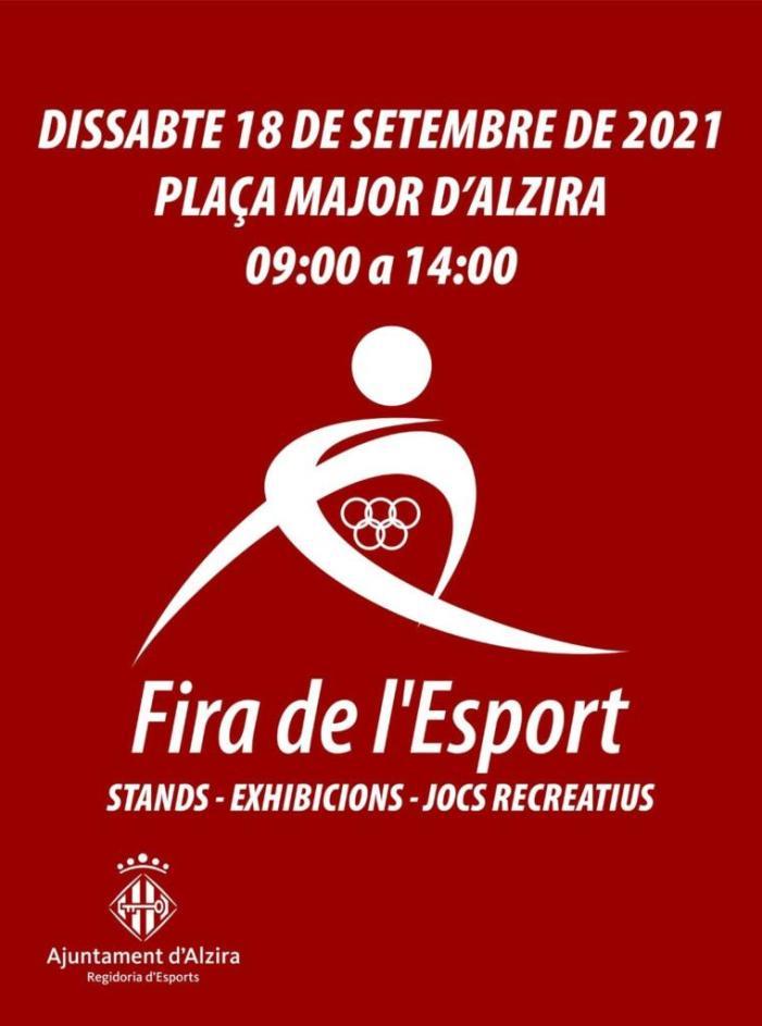 Els clubs esportius d'Alzira ultimen la I Fira de l'Esport