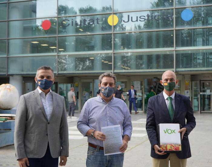 VOX denuncia al regidor socialista de Mislata, Joaquín Moreno, per un delicte d'odi