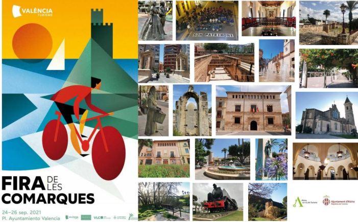 Alzira mostra tota la seua oferta en la Fira de les Comarques de la Diputació de València