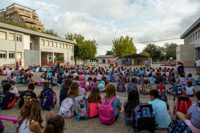 Comença un nou curs escolar a Mislata amb l'esperança de retornar prompte a la normalitat