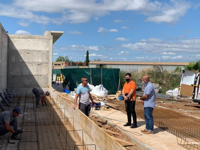Catarroja inicia les obres per a la instal·lació de 84 nous nínxols en el cementeri