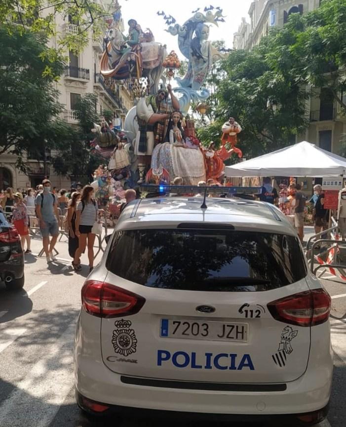 La Policia de la Generalitat imposa 178 multes durant les Falles