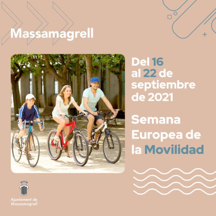 Massamagrell s'uneix a la Setmana Europea de la Mobilitat