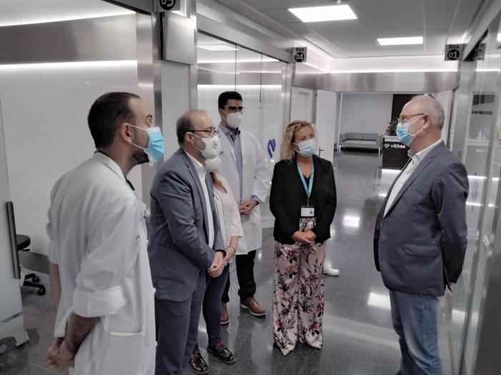 L'Hospital Vithas Aigües Vives remodela les seues urgències per a millorar la qualitat assistencial als seus pacients