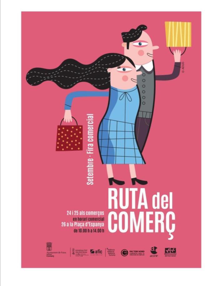 Foios inicia una Ruta Comercial per a incentivar el consum en el municipi