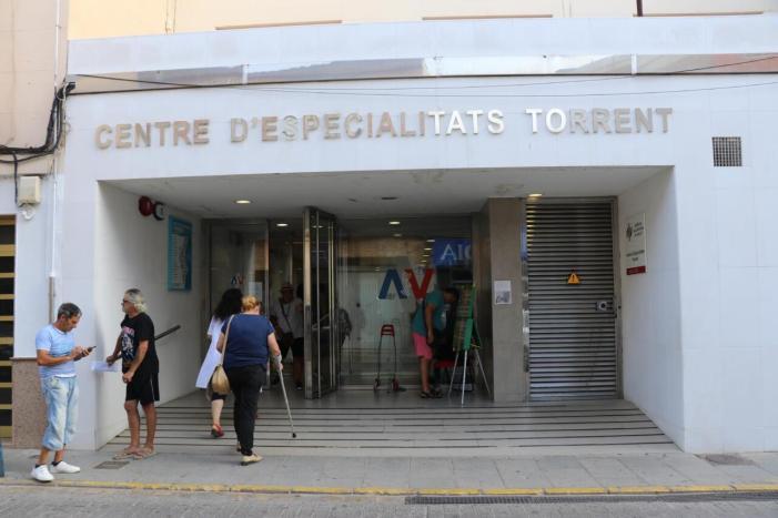 La Generalitat reprén les obres del nou servei de TAC i ressonància magnètica del Centre d'Especialitats de Torrent