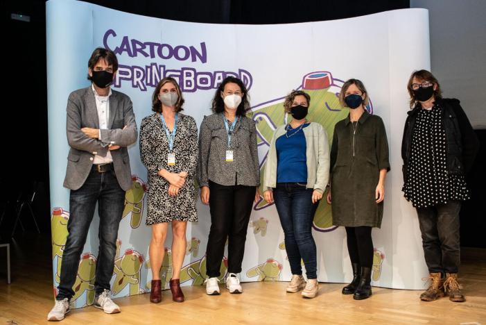 Cultura reuneix a València joves talents europeus del cinema d'animació amb la celebració de Cartoon Springboard