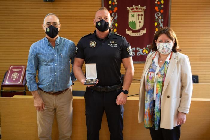 Ángel Navarro Mínguez, nomenat nou inspector de la Policia Local de Godella